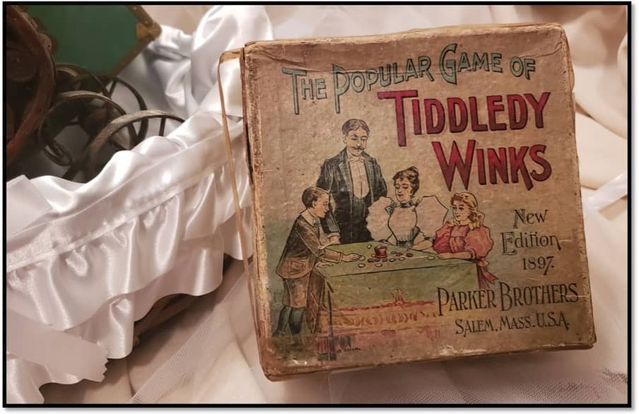 Tiddledy Winks Parker Brothers-small