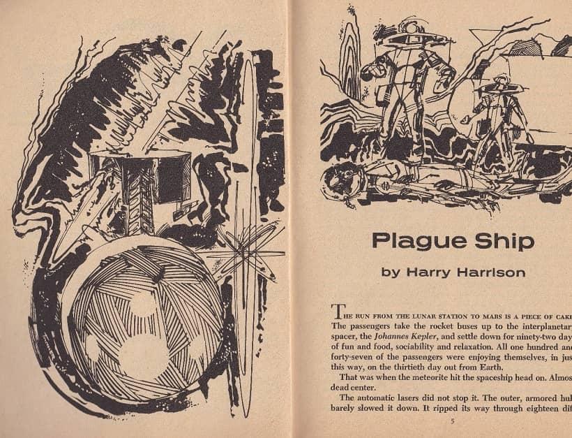 Venture Science Fiction November 1969 Plague Ship Harry Harrison-small