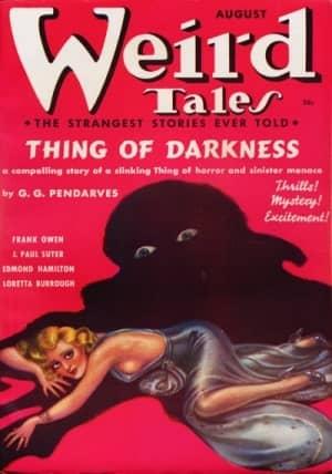 Cover by Margaret Brundage