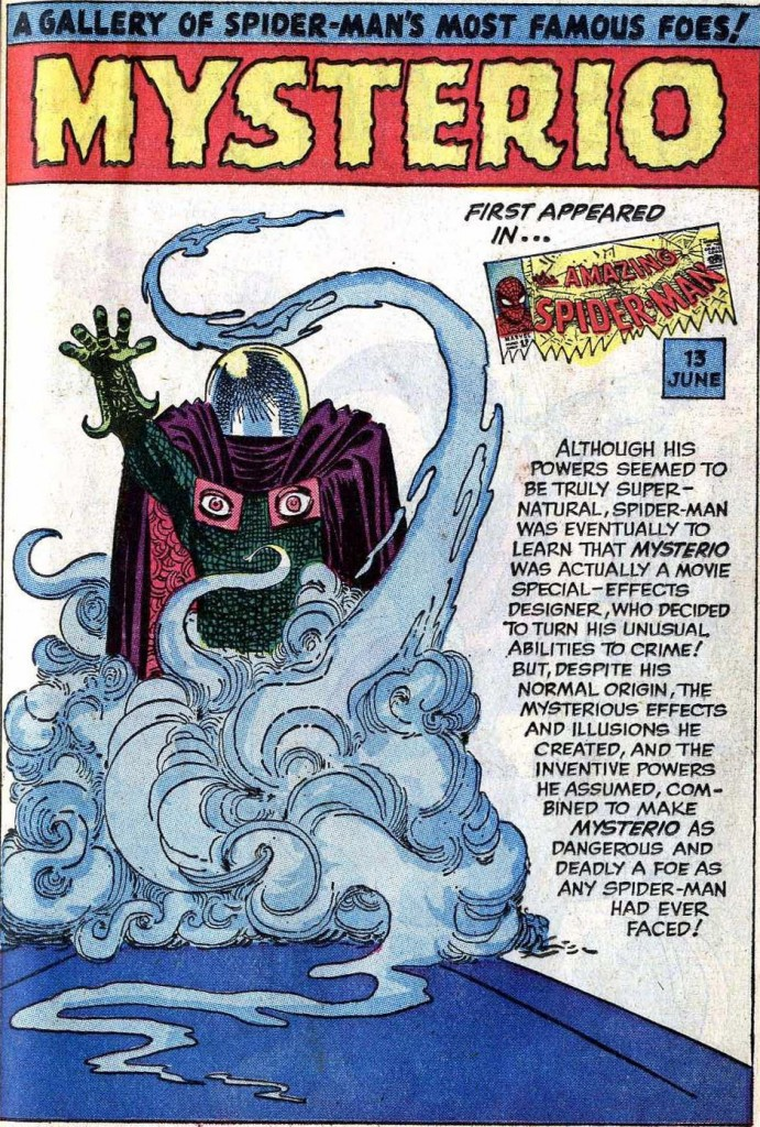 mysterio-pin-up-amazing-spider-man-annula-steve-ditko