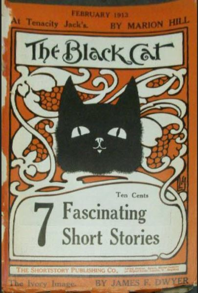 1913-02 The Black Cat cover