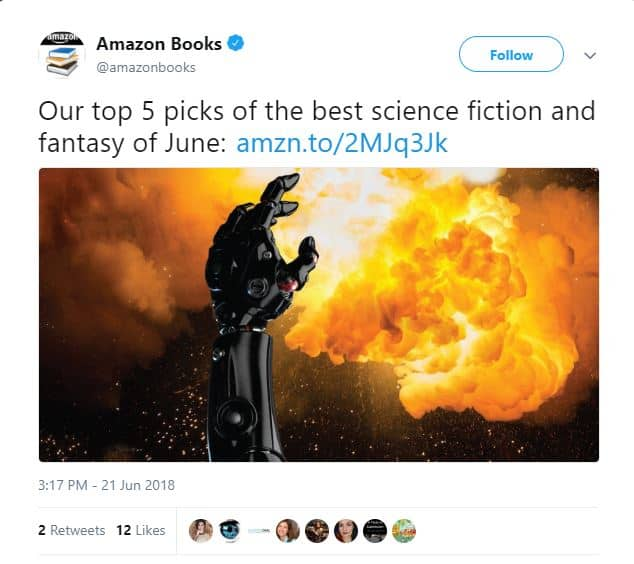Amazon Top Five SF & Fantasy in June