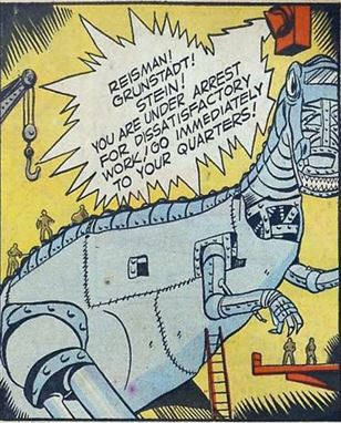 Clue Comics #4 Jun. 1943 Boy King and the Giant p8 panel
