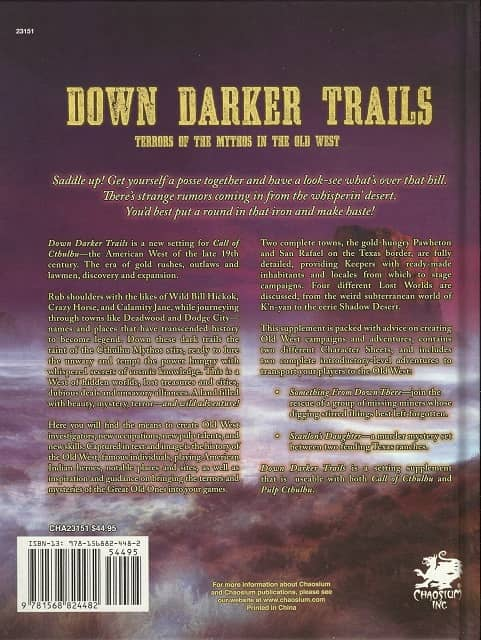 Down Darker Trails-back-small