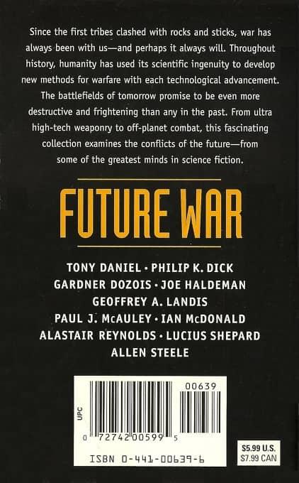 Future War Jack Dann Gardner Dozois-back-small