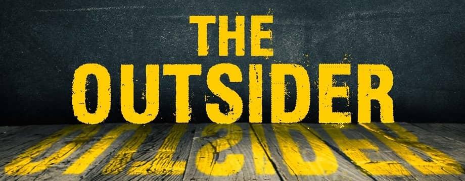 Stephen King The Outsider banner