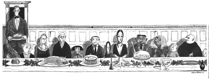 The Addams Family-charles-addams-small