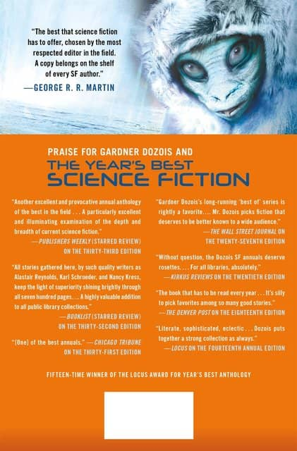 The Year's Best Science Fiction Thirty-Fifth Annual Collection-back-small