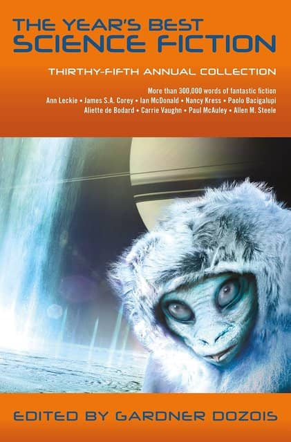 The Year's Best Science Fiction Thirty-Fifth Annual Collection-small