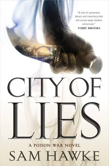 City of Lies Sam Hawke-small