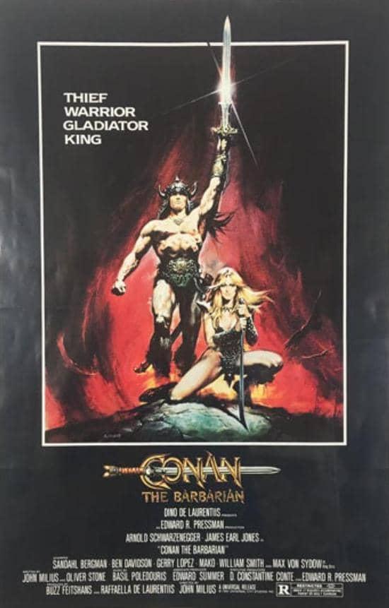 Conan the Barbarian poster-small