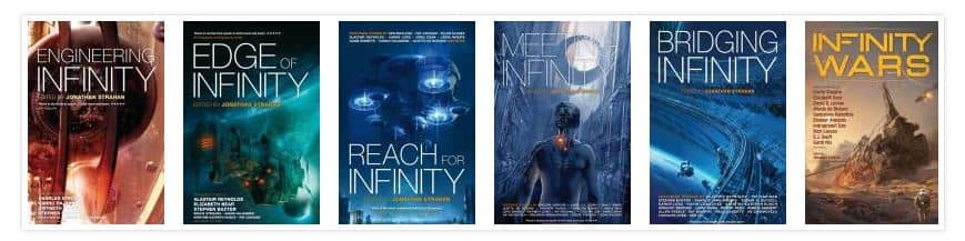 Infinity Series Jonathan Strahan