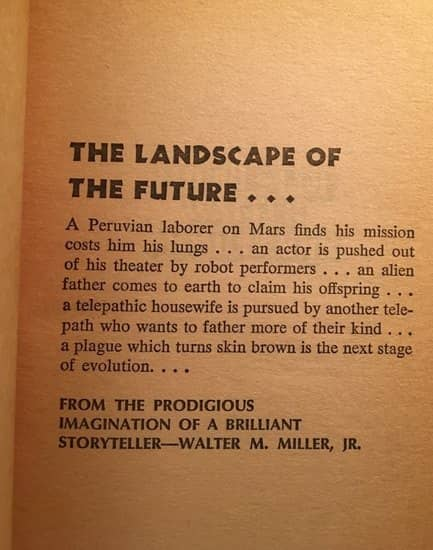The Best of Walter M Miller interior-small