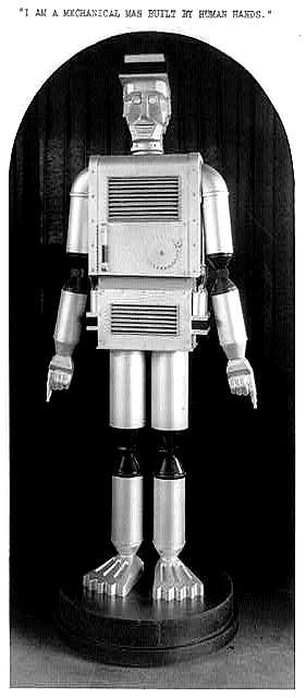 The Mechanical Man – Texas Centennial 1936
