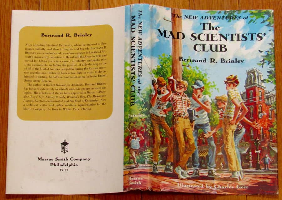 The New Adventures of the Mad Scientists' Club wrap-small