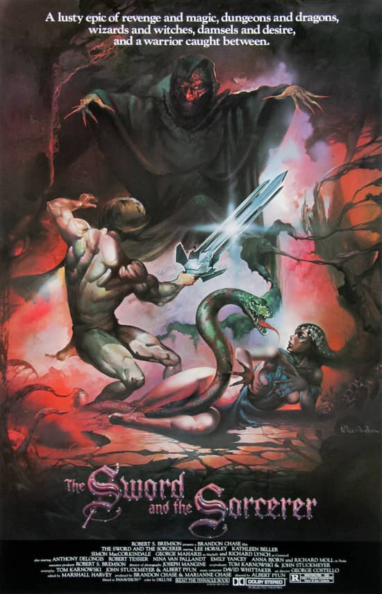 The Sword and the Sorcerer poster-small