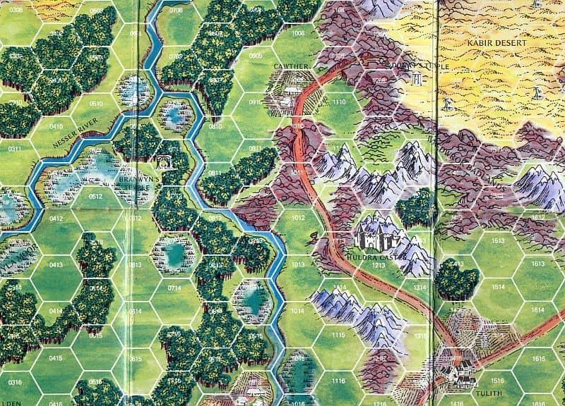 Barbarian Prince-map