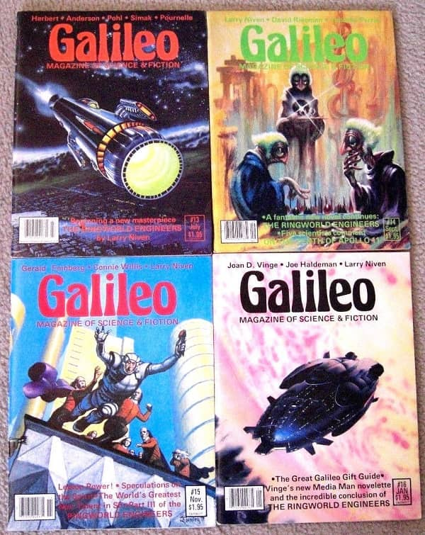 Galileo Science Fiction 4 issues-small