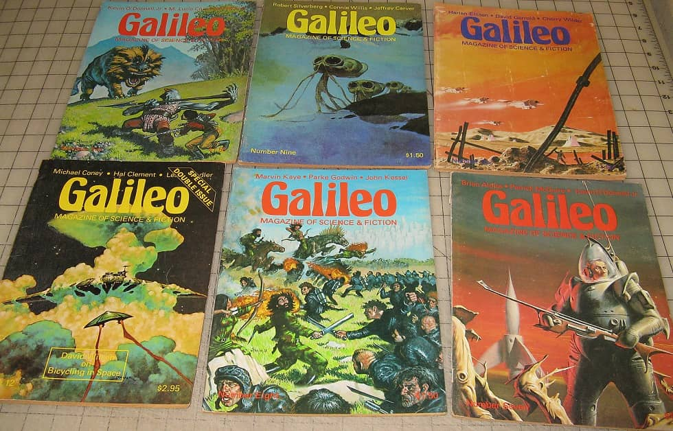 Galileo Science Fiction 6 issues-small