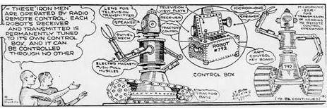 1929-07-31 Buck Rogers robots