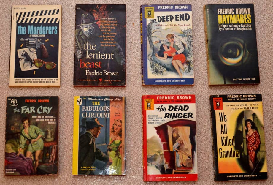 Fredric Brown mysteries-small