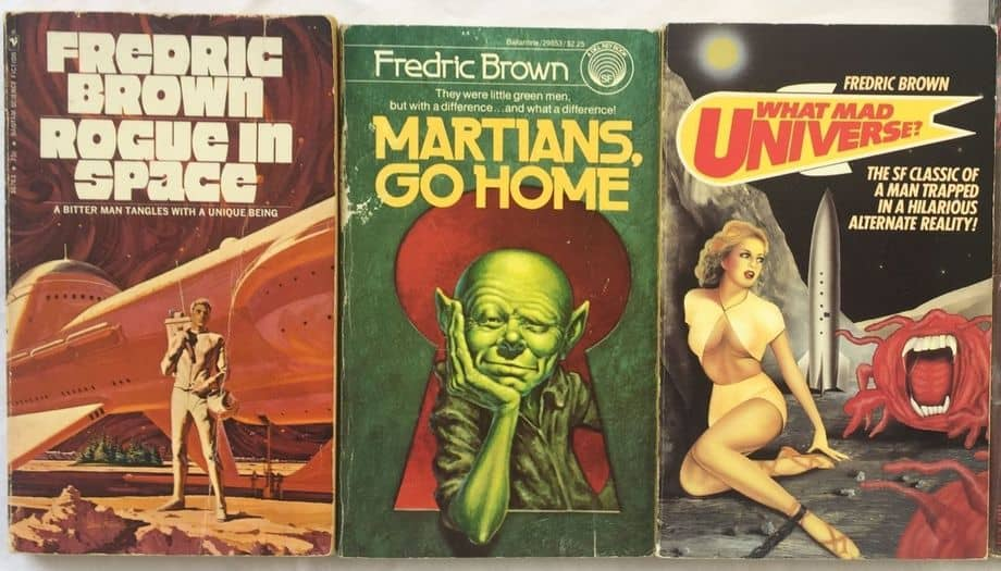 Fredric Brown novels-small