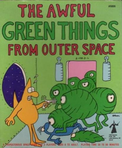 The Awful Green Things From Outer Space TSR