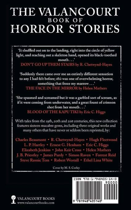 The Valancourt Book of Horror Stories Volume Three-back-small