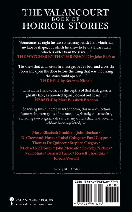 The Valancourt Book of Horror Stories Volume Two-back-small