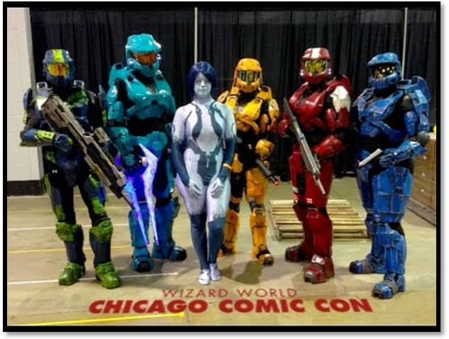 Wizardworld Comic Con Chicago 2018 cosplay 4
