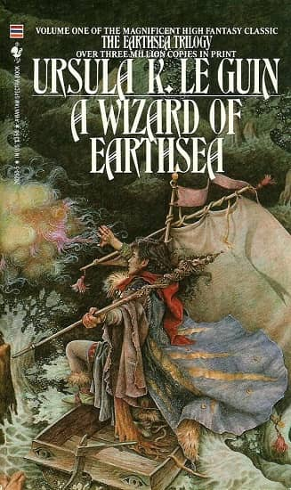 A Wizard of Earthsea Bantam Yvonne Gilbert-small
