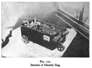 B. F. Miessner, Radiodynamics, 196 Electric dog