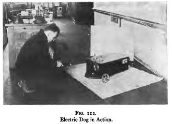 B. F. Miessner, Radiodynamics, 197 Electric dog in action