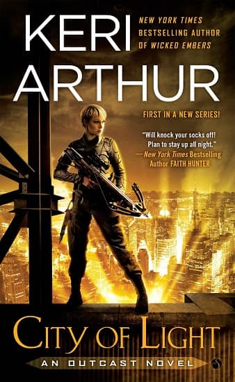 Keri Arthur City of Light-small