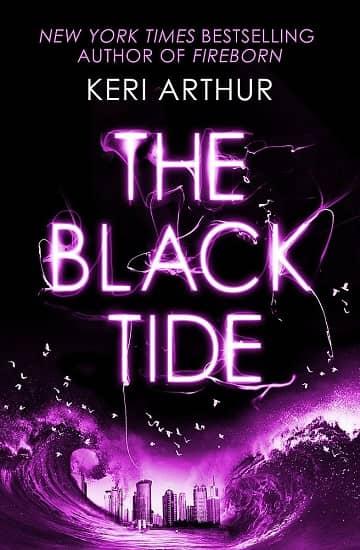 Keri Arthur The Black Tide UK-small