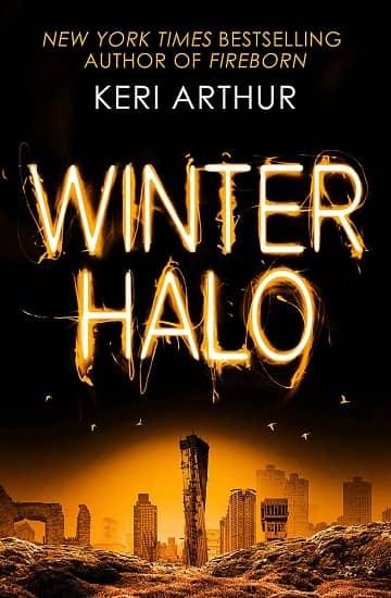 Keri Arthur Winter Halo UK-small