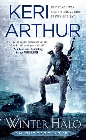 Keri Arthur Winter Halo-small