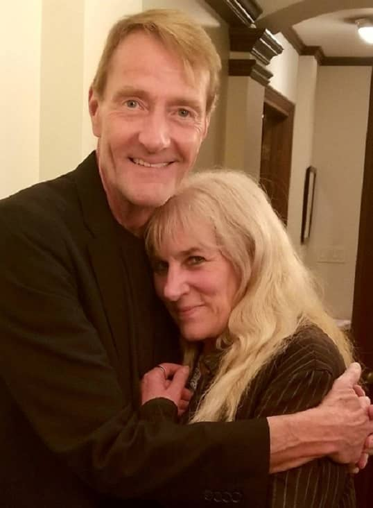 Lee Child and Heather Graham