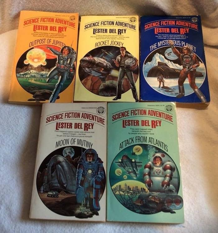 Lester del Rey lot Science Fiction Adventure-small