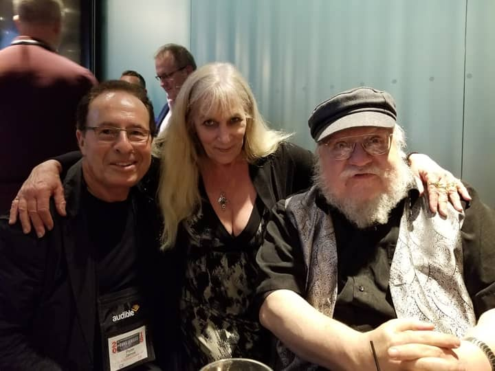 Peter James Heather Graham George R.R. Martin