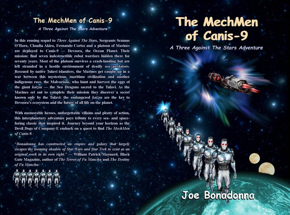 The MechMen of Canis-9 wrap