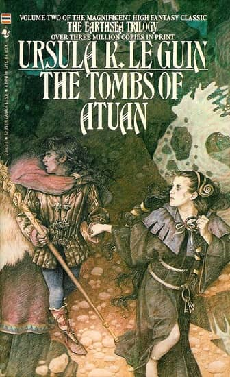 The Tombs of Atuan Bantam Yvonne Gilbert-small