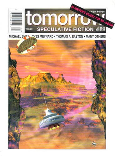 Tomorrow Speculative Fiction 23 November 1996-small