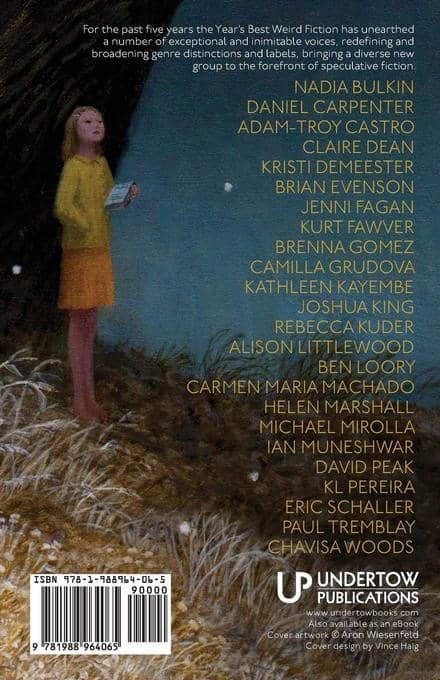 Year's Best Weird Fiction Volume Five-back-small