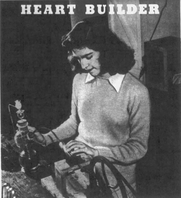 1945-07-15 Nashville Tennessean Magazine 16 Alice Dale mechanical heart