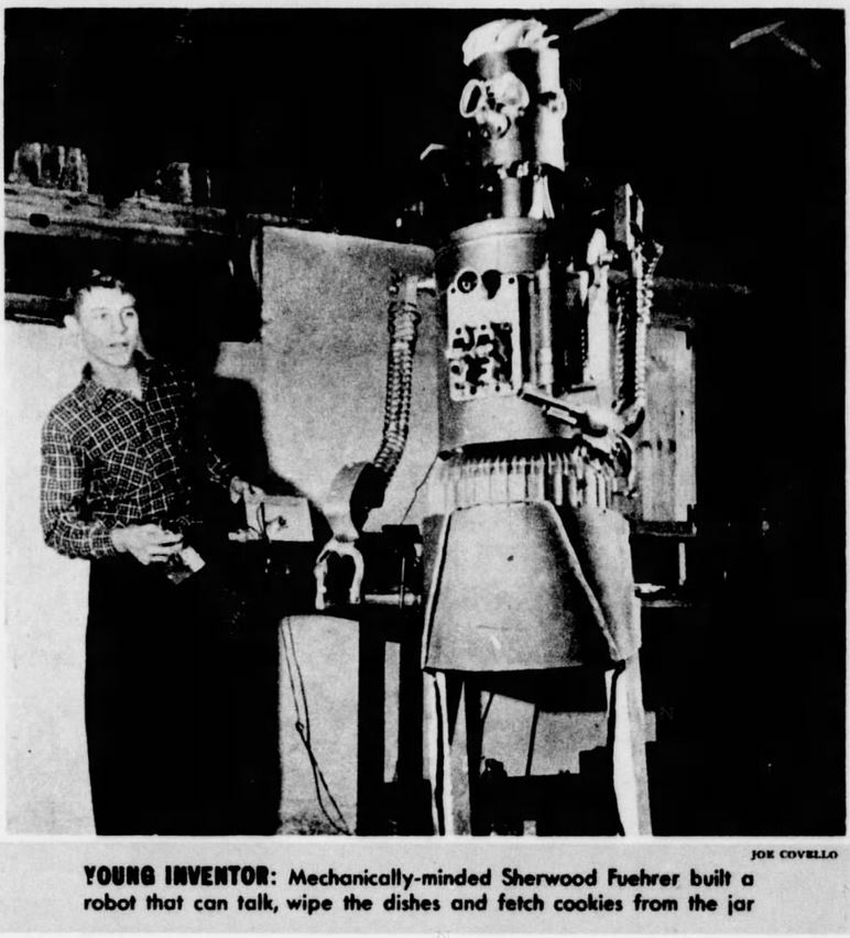 1955-02-27 Minneapolis Star Tribune [This Week 9] gismo robot