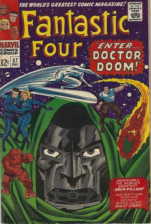 (2) Fantastic Four 57-small