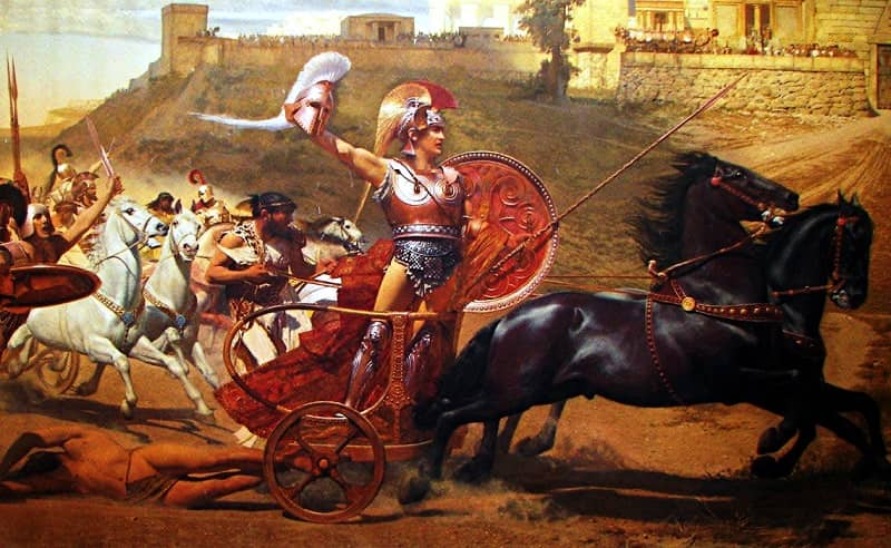 (5) Achilles and the Body of Hector-small