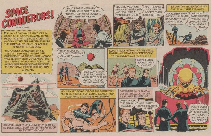Space Conquerors Boy's Life April 1966