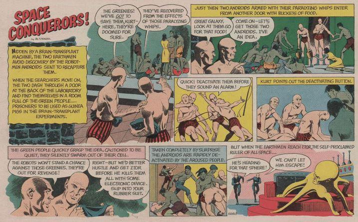 Space Conquerors Boy's Life Aug. 1966